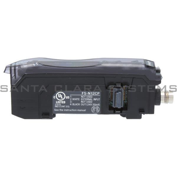 Keyence FS-N12CP Fiber Optic Sensor Product Image