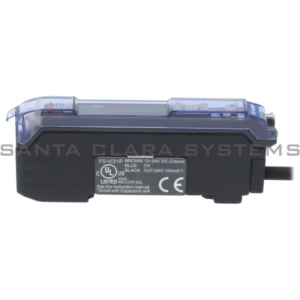 Keyence FS-V31P Photoelectric Amplifier Fiber Optic Product Image