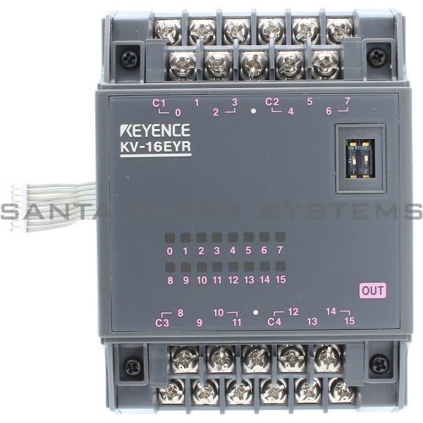 Keyence KV-16EYR Expansion Unit Product Image