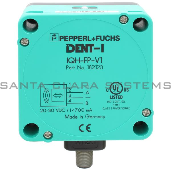 Pepperl+Fuchs IQH-FP-V1 IDENT Control  HF Read/Write Head Product Image