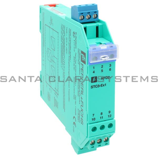Pepperl+Fuchs KFD2-STC3-EX1 Smart Transmitter Isolator | 116308 Product Image