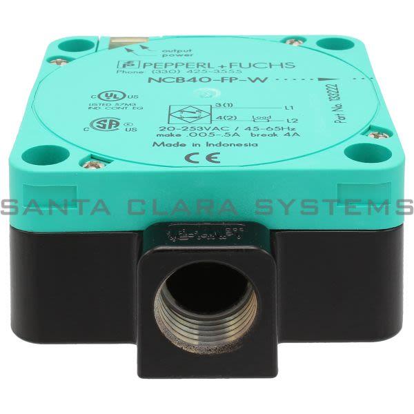 Pepperl+Fuchs NCB40-FP-W-P4 Inductive Sensor Product Image