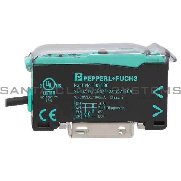 Pepperl+Fuchs SU18-35-40A-110-115-126A Fiber Optic Sensor Product Image