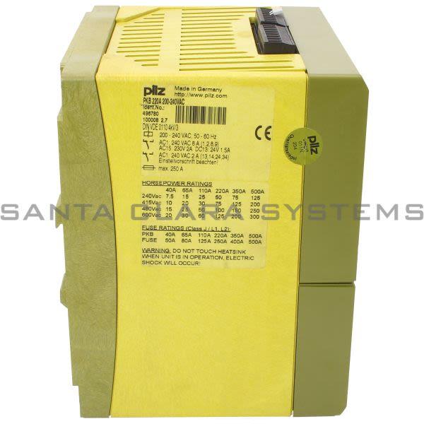 Pilz PKB220A200-240VAC-496780 injection Break Product Image
