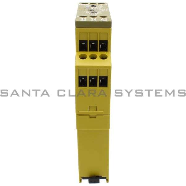 Pilz ZUZ24VDC24-110-230VAC2C-O-827100 Voltage monitoring relay for monitoring 1-phase mains is used as a threshold element, monitoring device and control elem Product Image