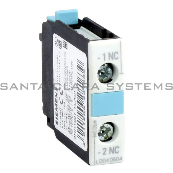 Siemens 3RH1 921-1CA01  Contact Block | 3RH1921-1CA01 Product Image