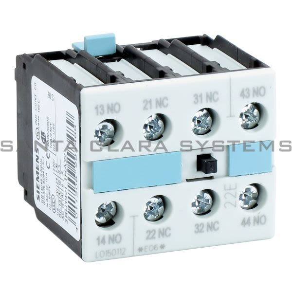 Siemens 3RH1921-1HA22 Auxiliary Contact | 3RH1921-1HA22 Product Image