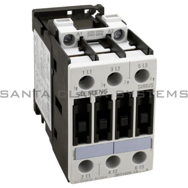 Siemens 3RT1025-1AP60 Contactor | 3RT1025-1AP60 Product Image