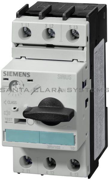 Siemens 3RV1021-1KA10 Motor Starter Protector | Sirius | 3RV1021-1KA10 Product Image