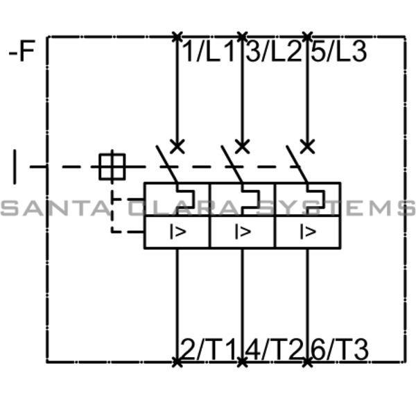 Siemens 3RV1021-4CA10 Motor Starter Protector | Sirius | 3RV1021-4CA10 Product Image