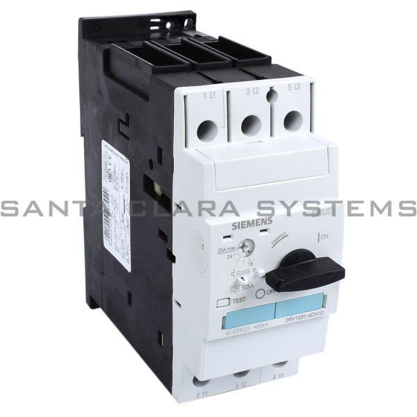 3rv1031 4da10 Siemens Motor Starter Protector Sirius