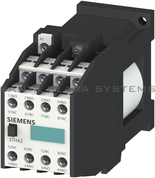 Siemens 3TH4244-0BB4 Control Relay | 3TH4 244-0BB4 Product Image