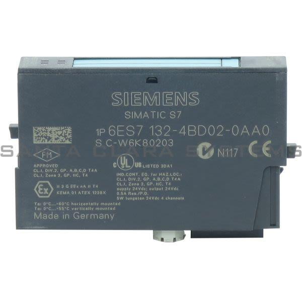Siemens 6ES7132-4BD02-0AA0 Digital Output Module | SIMATIC | 6ES7132-4BD02-0AA0 Product Image