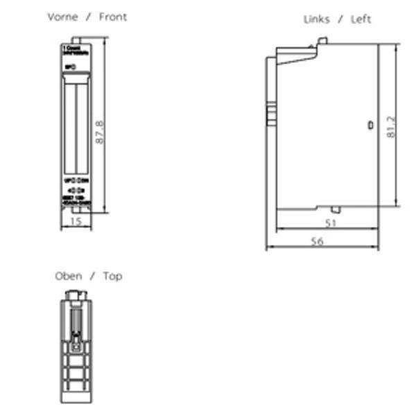 Siemens 6ES7138-4DA04-0AB0 Counter Module Product Image