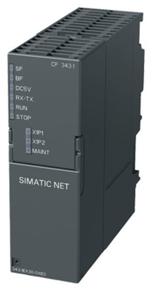 Siemens 6GK7343-1EX30-0XE0 Communication Processor | CP 343-1 | SIMATIC S7-300 | 6GK7343-1EX30-0XE0 Product Image