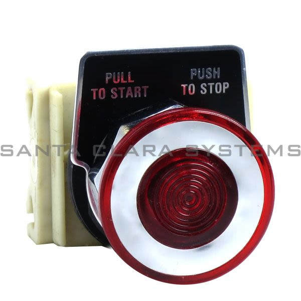 Square D 9001-KR9P1R Push Button Product Image