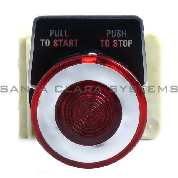 Square D 9001-KR9P1R Ray Push Button Product Image