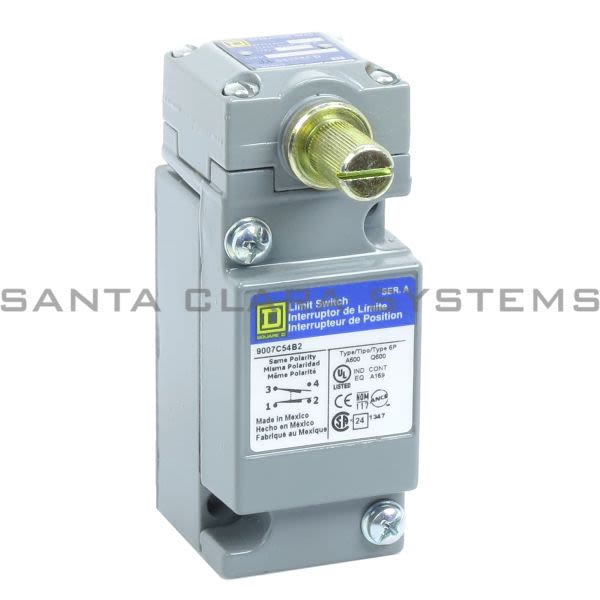 Square D 9007-C54B2 Limit Switch Product Image