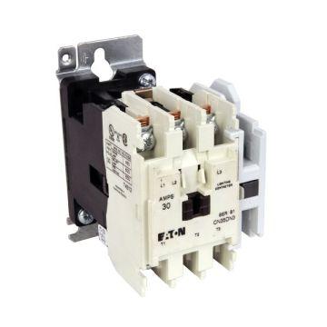 cutler-hammer cn35dn3ab lighting contactor 3-pole 30-amp open type | eaton