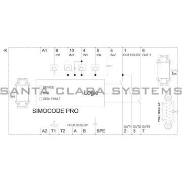siemens 3uf7 010-1ab00-0 simocode product image